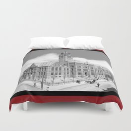Historic Courthouse - Jefferson County Alabama - Birmingham Duvet Cover