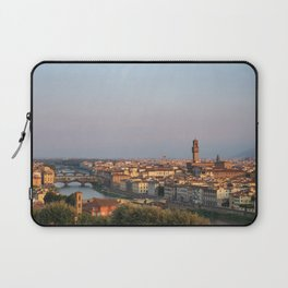 View of the city of Florence early in the morning. Laptop Sleeve