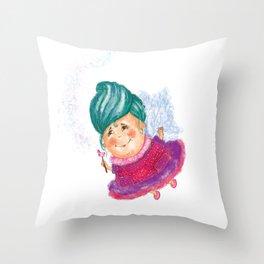 Fairy God-mother Throw Pillow