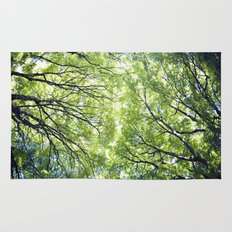 Green Maples Rug