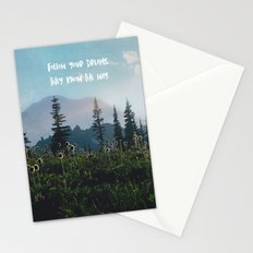 Follow Your Dreams Stationery Cards