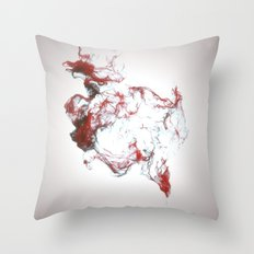 Ink dispersion Throw Pillow