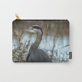 Ridgefield Heron, No. 1 Carry-All Pouch