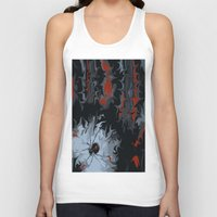black widow Tank Tops featuring widow by Shea33