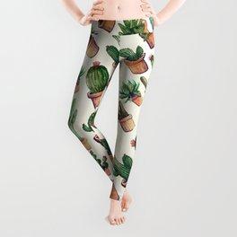 Cactus Wave Leggings