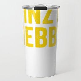 Yinz R Nebby Funny Pittsburgh Nosey Yinzers T-Shirt Travel Mug