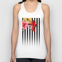stripes Tank Tops featuring FLORA BOTANICA | stripes by Cheryl Daniels