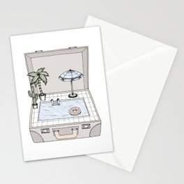Pool To Go Stationery Cards