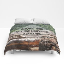the wood factory II Comforters