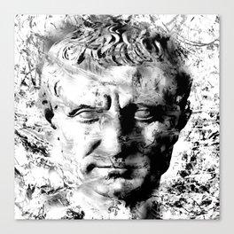 JULIUS CAESAR (BLACK & WHITE VERSION) Canvas Print