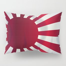 Japanese Rising Sun Flag Pillow Sham