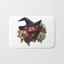 Wizard Class D20 - Tabletop Gaming Dice Bath Mat