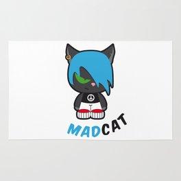 Mad cat Rug