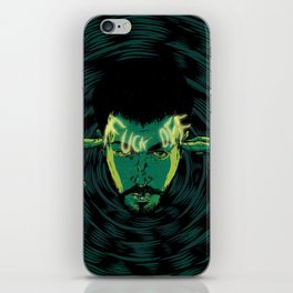Mind-control powers in good use iPhone Skin