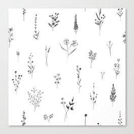 Wildflowers BIG Canvas Print