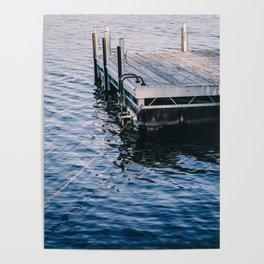 Lake Indigo Poster