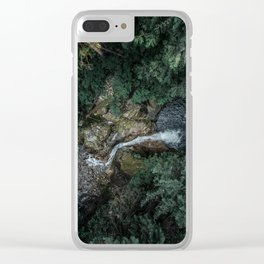 Two Bodies Clear iPhone Case