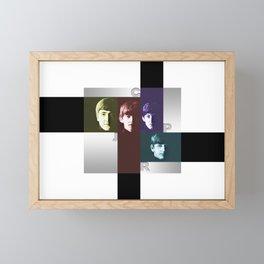 icons Framed Mini Art Print