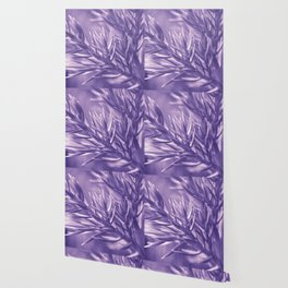 Ultra Violet Spruce Tree Pattern  Trendy color of year 2018 Wallpaper