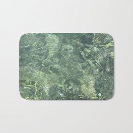 Marbled effect water Bath Mat