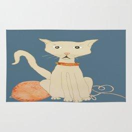 yo tambien hice un gato  ( I  made a cat , too) Rug