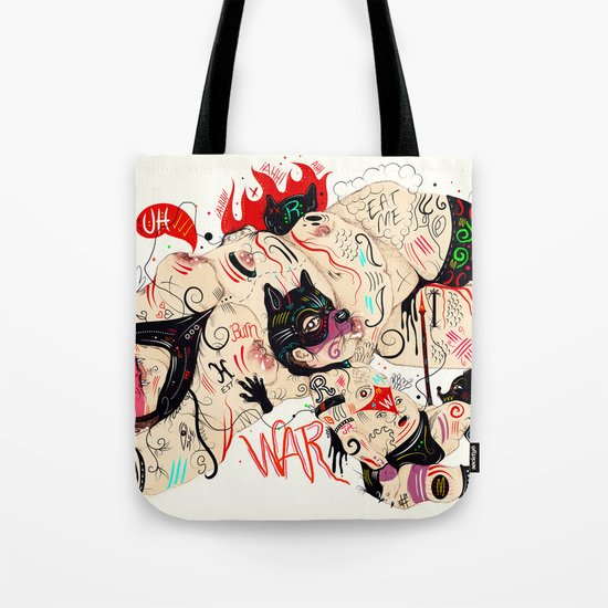 Wolfmother Tote Bag