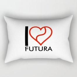 I love Futura Rectangular Pillow