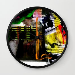 The L Mix Wall Clock