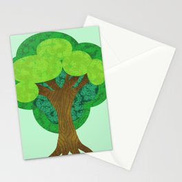 Paper Doll Tree Stationery Cards