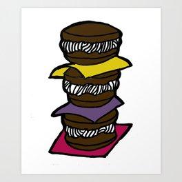 Whoopie Pie - Maine Art Print