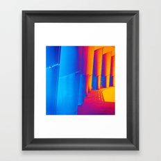 Pop Art Pillars Framed Art Print