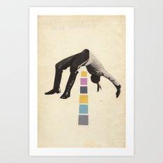 High Jump Art Print