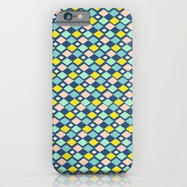 Geometric Colorful Pattern iPhone Case