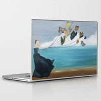 baloon Laptop & iPad Skins featuring Butterfly Baloon by ArtSchool
