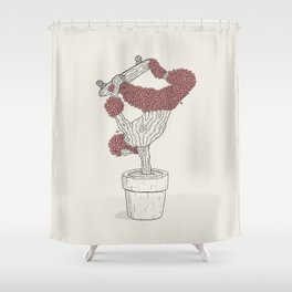 Handplant Shower Curtain