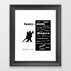 dance house Framed Art Print