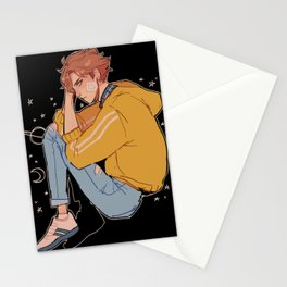 space oikawa Stationery Cards