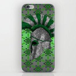 Spartan Helmet iPhone Skin