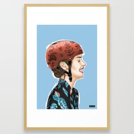 Biker series - 2 Framed Art Print
