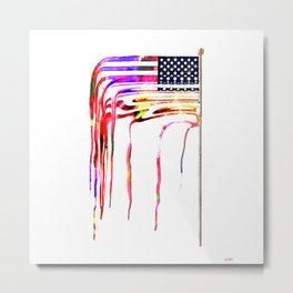 Amerflag Metal Print
