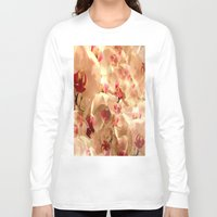 orchid Long Sleeve T-shirts featuring Orchid by Bê Machado