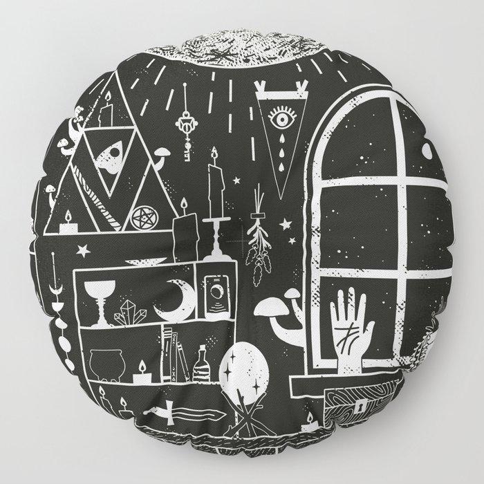 Moon Altar Floor Pillow