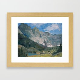 Mountain Landscape #050 Framed Art Print