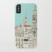 toronto iPhone & iPod Cases featuring Toronto by Nayoun Kim