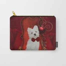 Cute little maltese puppy Carry-All Pouch