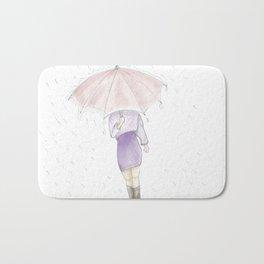 rainy day  #decoration #society6 #buyart Bath Mat