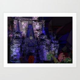 The Glass Castle Art Print
