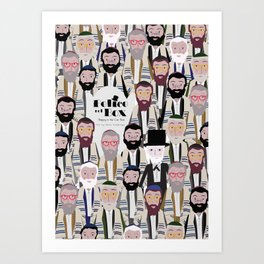 Felice nel Box (Film Poster) Art Print