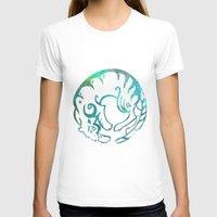 zodiac T-shirts featuring Tiger zodiac by Julie Luke