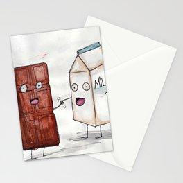 Chocolate Milk Shake Stationery Cards